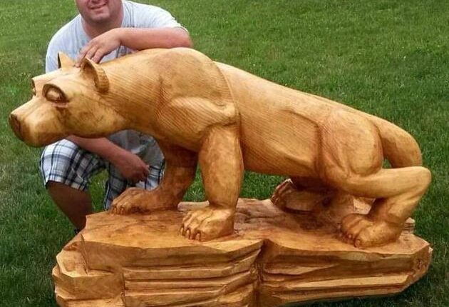Sharp skills: Watch chainsaw carvers in action at Shippensburg festival