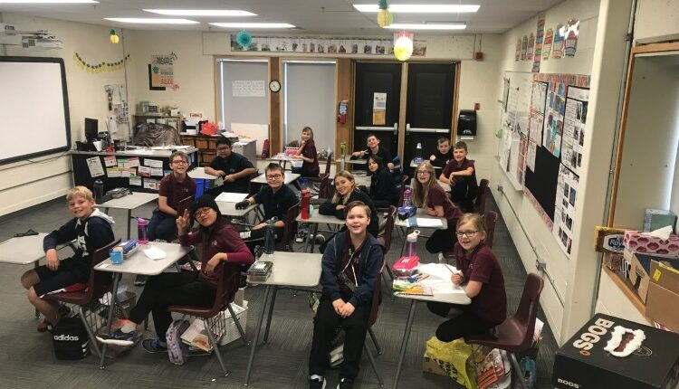Trinity Christian Academy Wins Classroom Of The Month For April