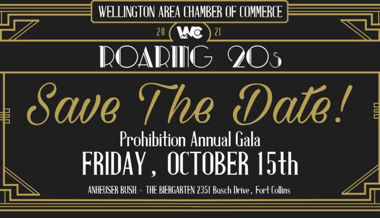 Wellington Chamber Announces Annual Dinner, Roaring Twenties Style