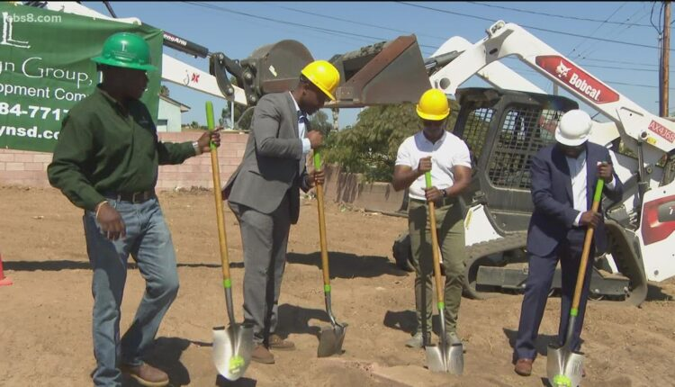 Black real estate developer breaks ground on new housing project