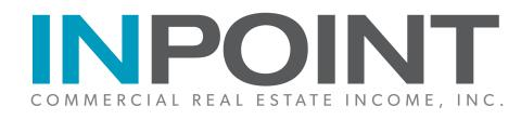 InPoint Commercial Real Estate Income, Inc. Announces Closing of Upsized