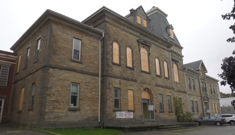 Centurian jail for sale in Owen Sound offers spooky real